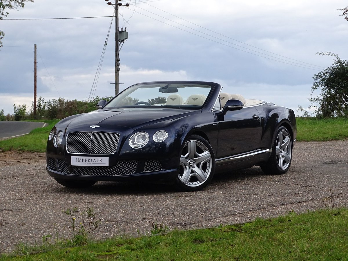 201463 Bentley CONTINENTAL GTC SOLD (picture 1 of 20)