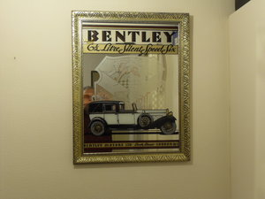 Bentley wall Mirror / Picture