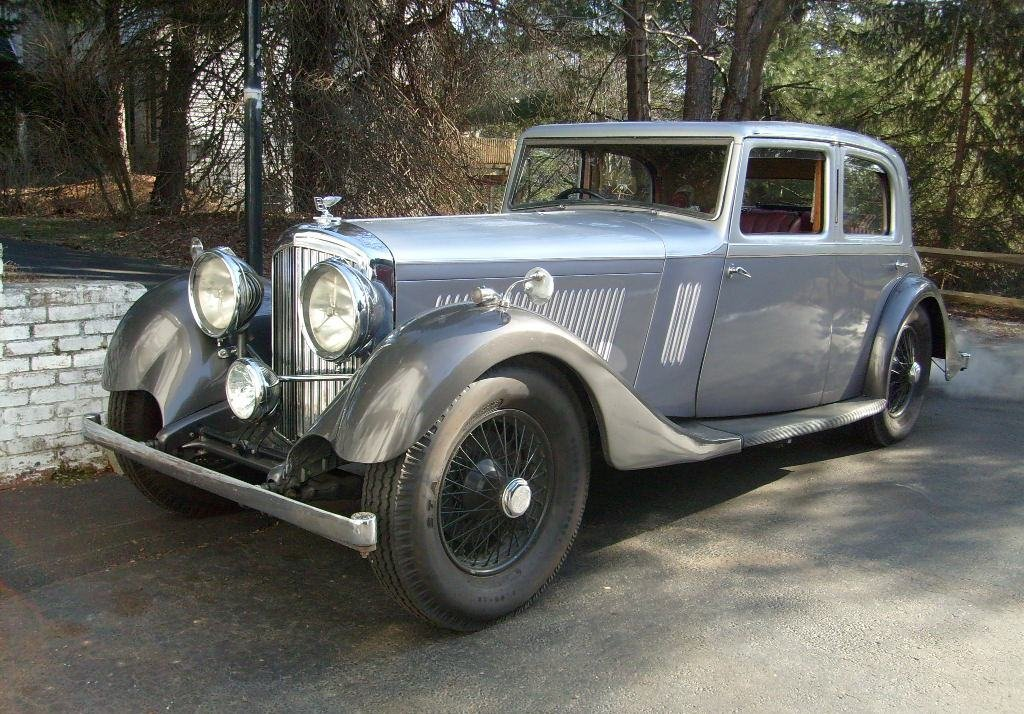 1934 3.5L Mann-Egerton Derby Bentley For Sale (picture 1 of 6)