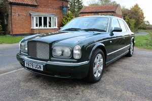 BENTLEY ARNAGE RED LABEL, 54400 MILES, FULL HISTORY, NEW MOT