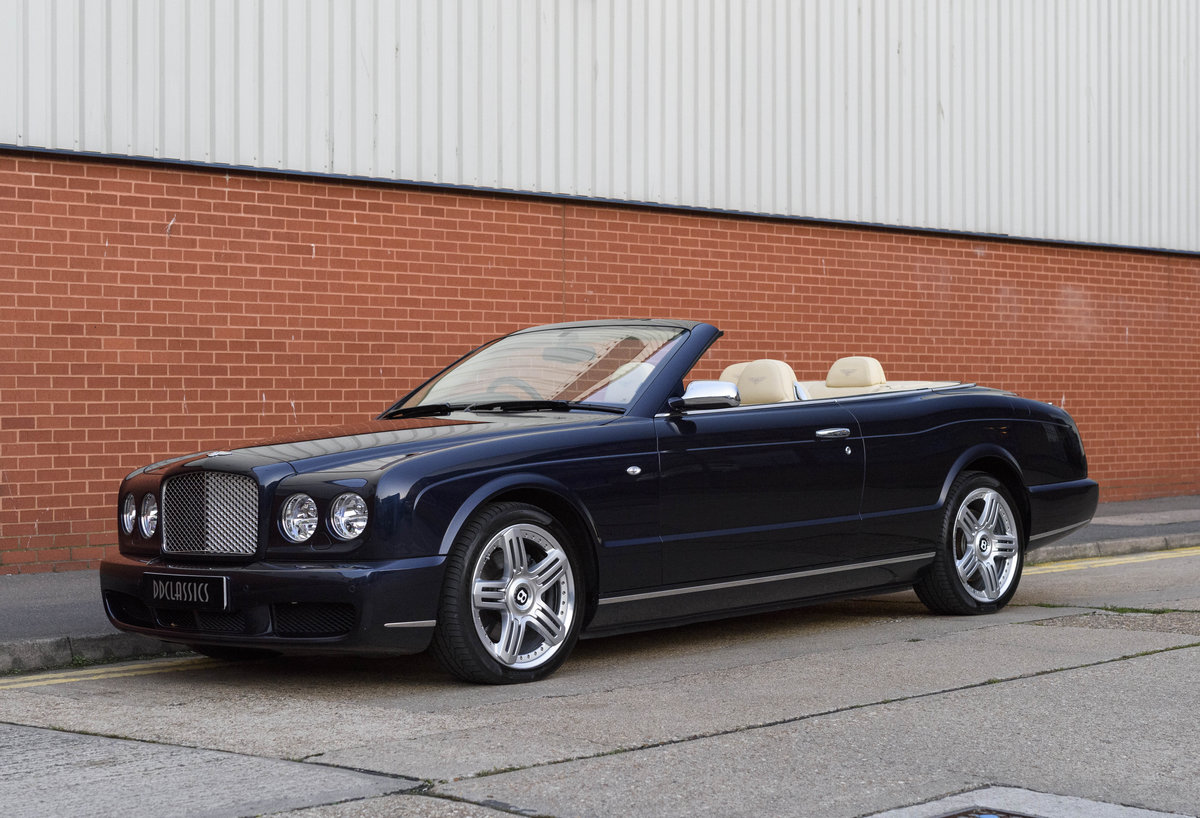 2006 Bentley Azure Convertible (RHD) For Sale (picture 1 of 23)