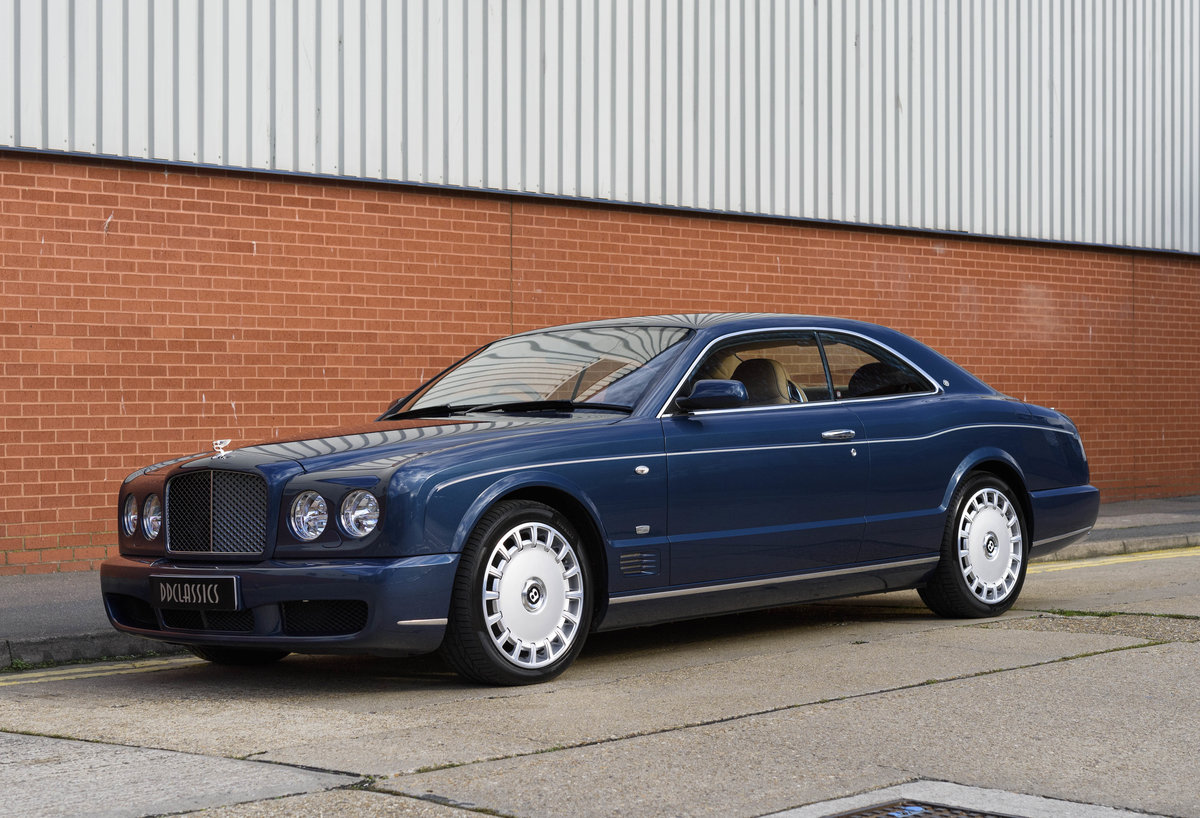 2008 Bentley Brooklands Coupe (RHD) For Sale (picture 1 of 24)