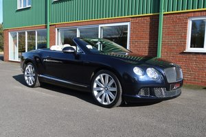 Bentley Continental GTC W12 15,000 Miles FBSH