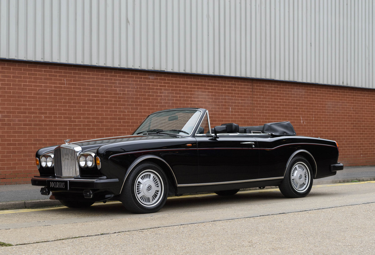1988 Bentley Continental Convertible (RHD) For Sale (picture 1 of 31)