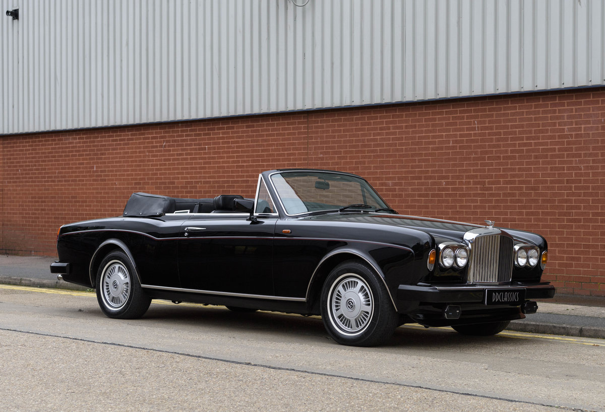 1988 Bentley Continental Convertible (RHD) For Sale (picture 2 of 31)