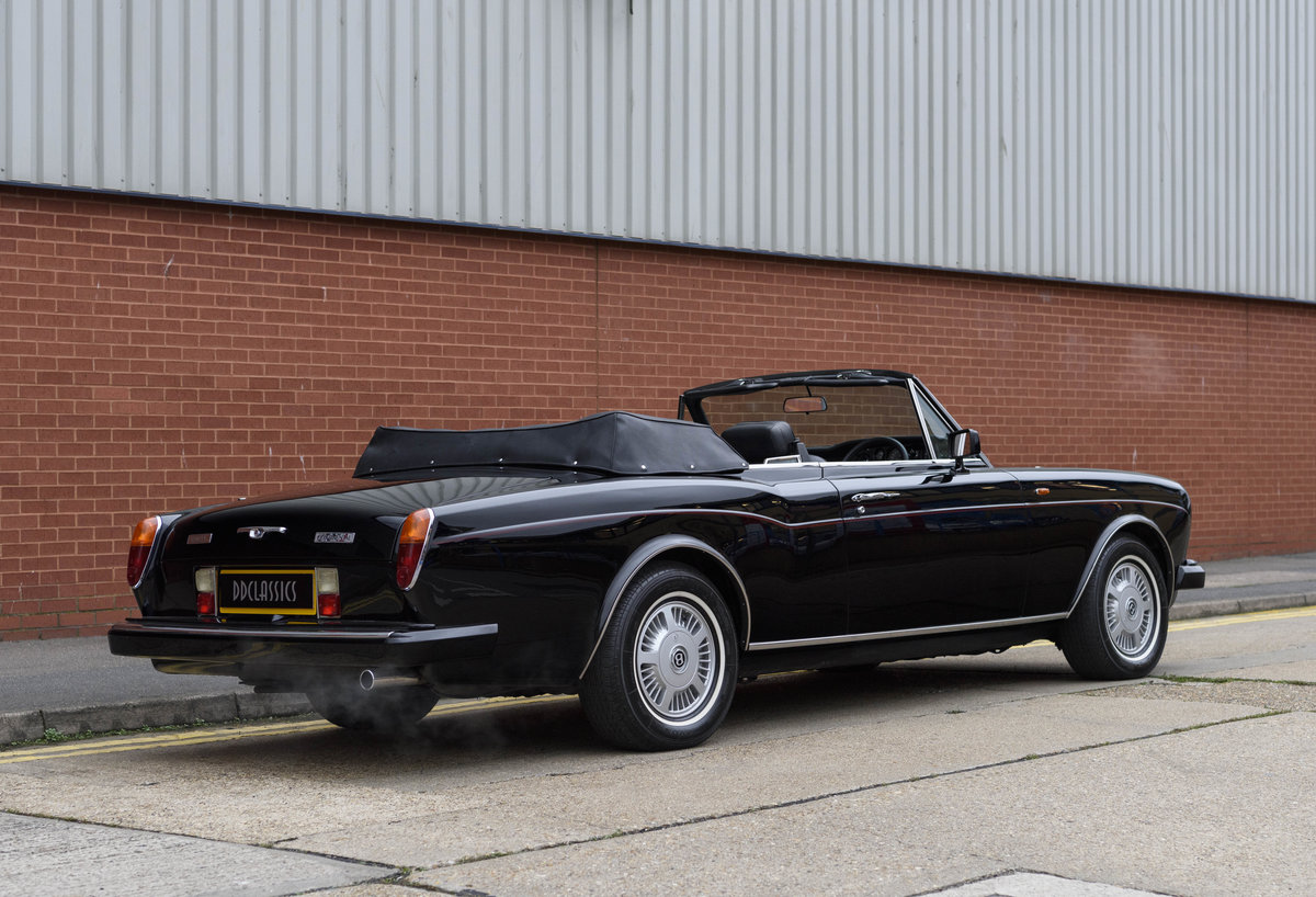 1988 Bentley Continental Convertible (RHD) For Sale (picture 5 of 31)