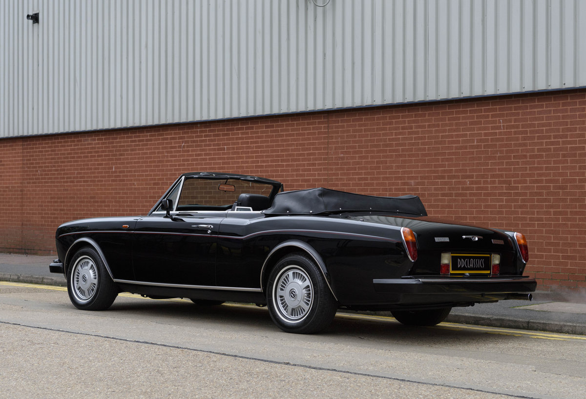 1988 Bentley Continental Convertible (RHD) For Sale (picture 6 of 31)