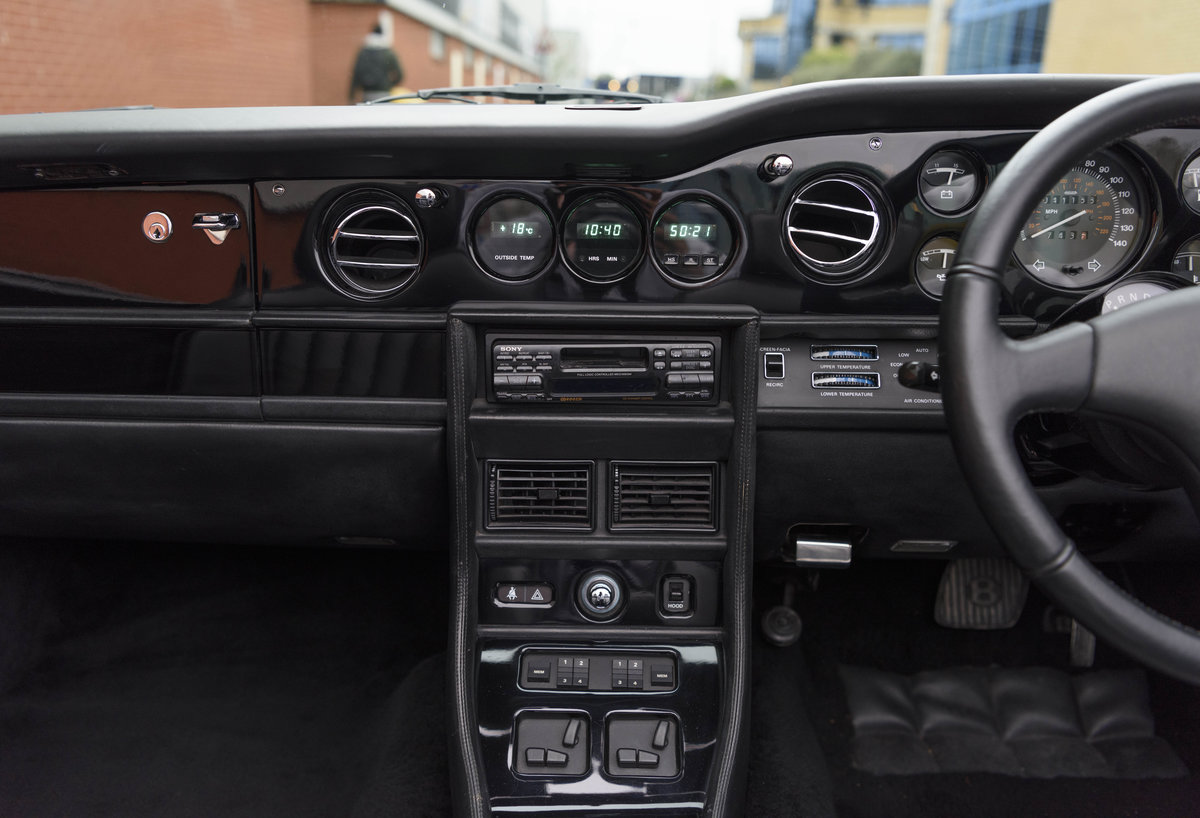 1988 Bentley Continental Convertible (RHD) For Sale (picture 17 of 31)