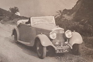 Picture of 1935 Bentley 3,5 ltr DHC by Park Ward For Sale