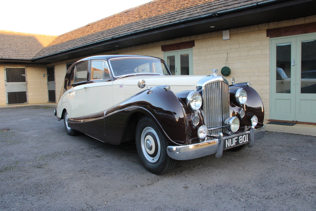 1954 BENTLEY R TYPE MANUAL FREESTONE AND WEBB For Sale (picture 1 of 19)