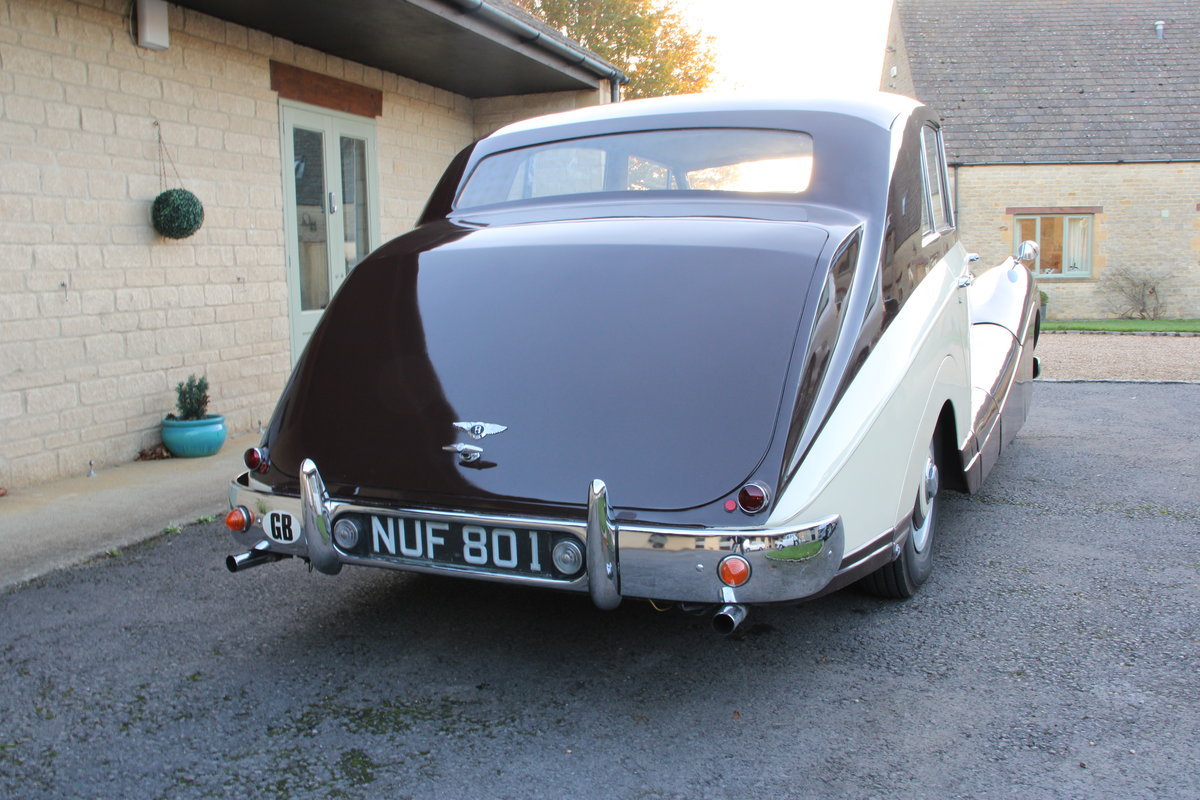 1954 BENTLEY R TYPE MANUAL FREESTONE AND WEBB For Sale (picture 2 of 19)