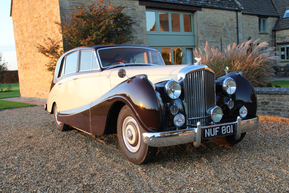 1954 BENTLEY R TYPE MANUAL FREESTONE AND WEBB For Sale (picture 3 of 19)