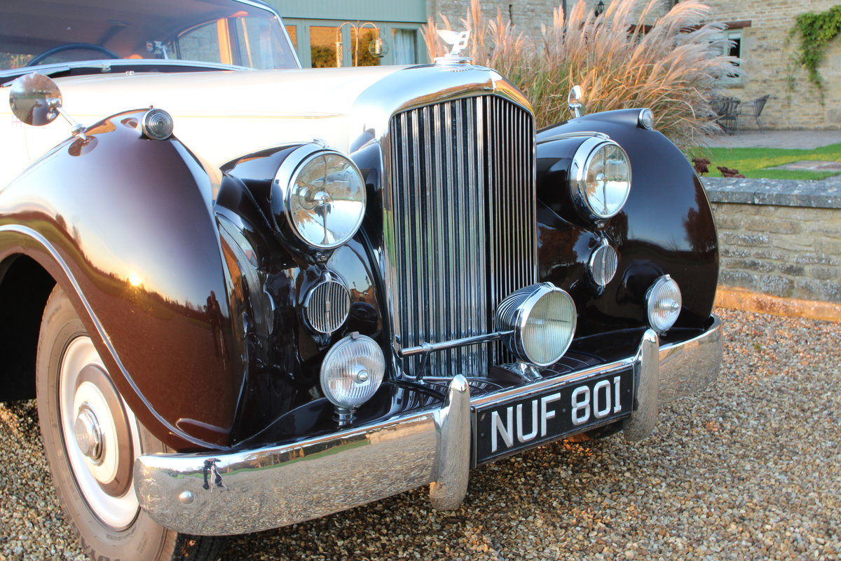 1954 BENTLEY R TYPE MANUAL FREESTONE AND WEBB For Sale (picture 4 of 19)