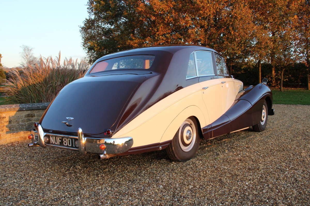 1954 BENTLEY R TYPE MANUAL FREESTONE AND WEBB For Sale (picture 5 of 19)