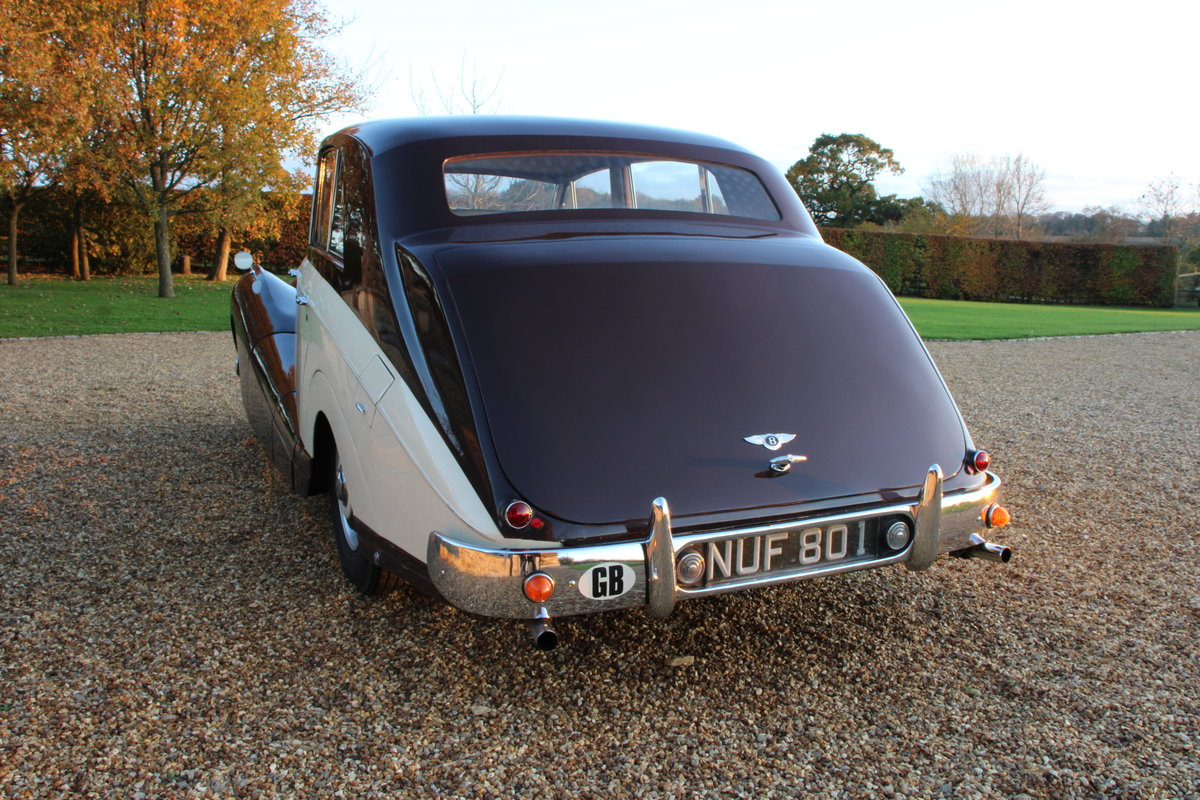 1954 BENTLEY R TYPE MANUAL FREESTONE AND WEBB For Sale (picture 6 of 19)
