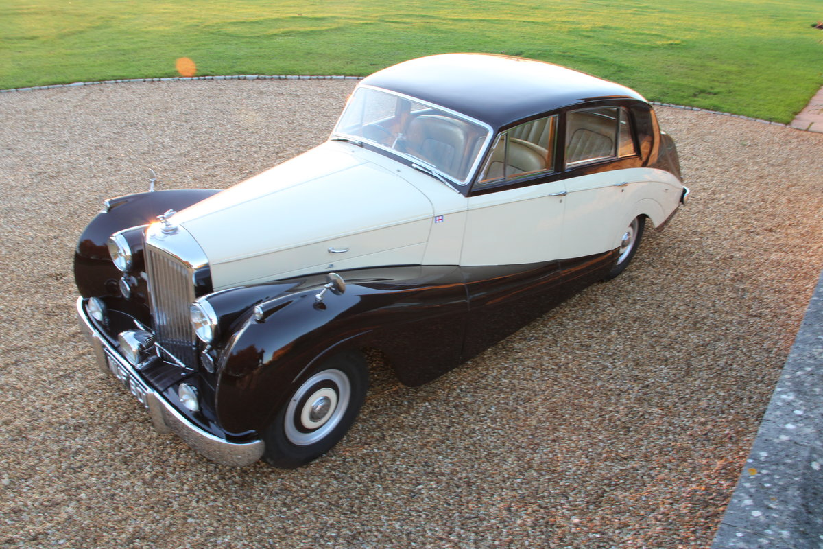 1954 BENTLEY R TYPE MANUAL FREESTONE AND WEBB For Sale (picture 7 of 19)