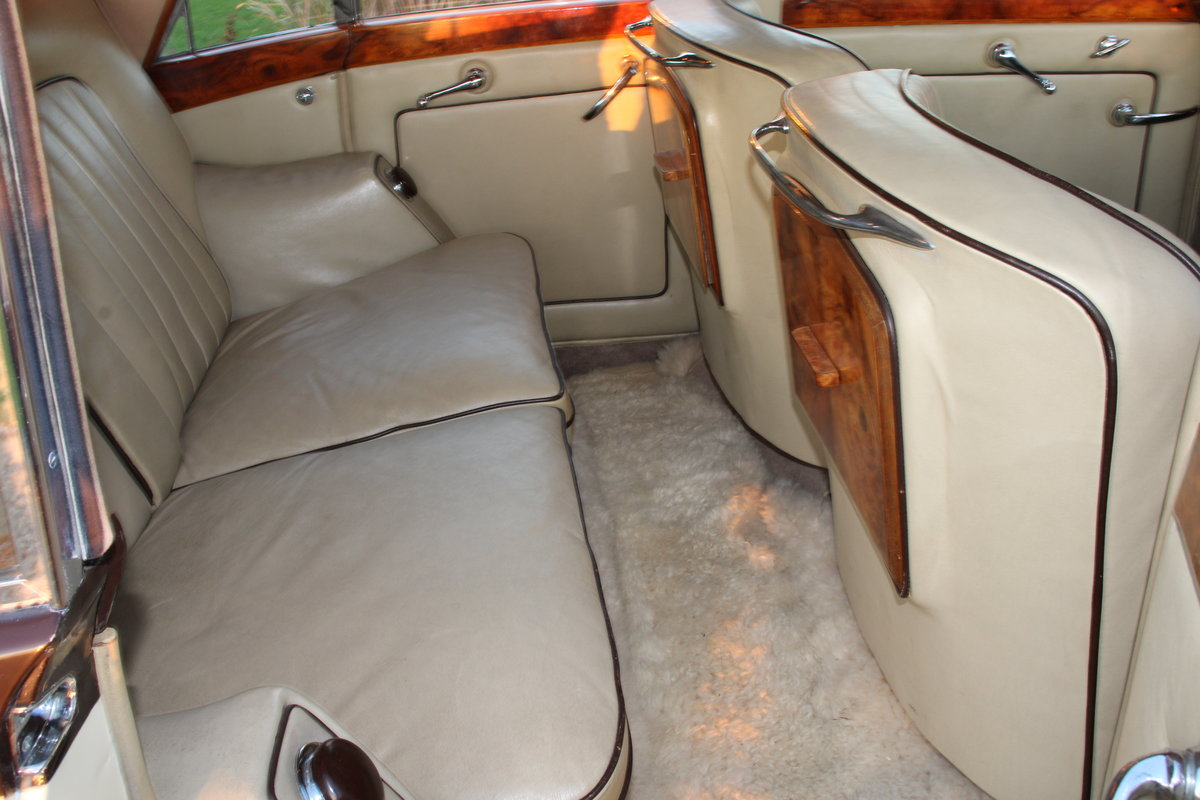 1954 BENTLEY R TYPE MANUAL FREESTONE AND WEBB For Sale (picture 10 of 19)
