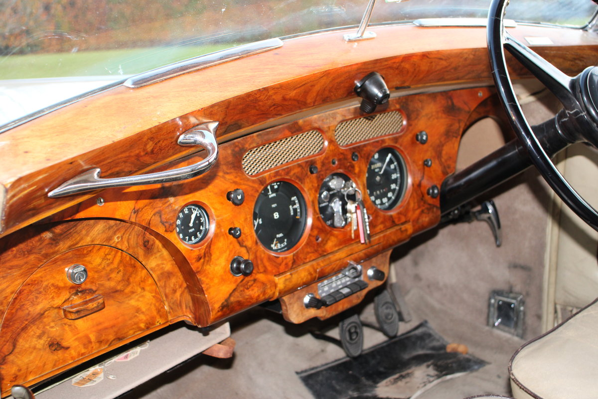 1954 BENTLEY R TYPE MANUAL FREESTONE AND WEBB For Sale (picture 15 of 19)