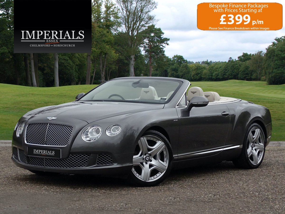 2013 Bentley CONTINENTAL GTC For Sale (picture 1 of 20)