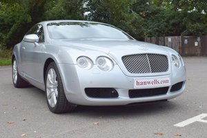 2005/05 Bentley Continental GT in Moonbeam Silver