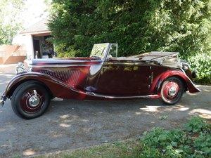 Picture of 1939 Derby Bentley 4.25 Vandan Plas Drophead Coupe For Sale For Sale