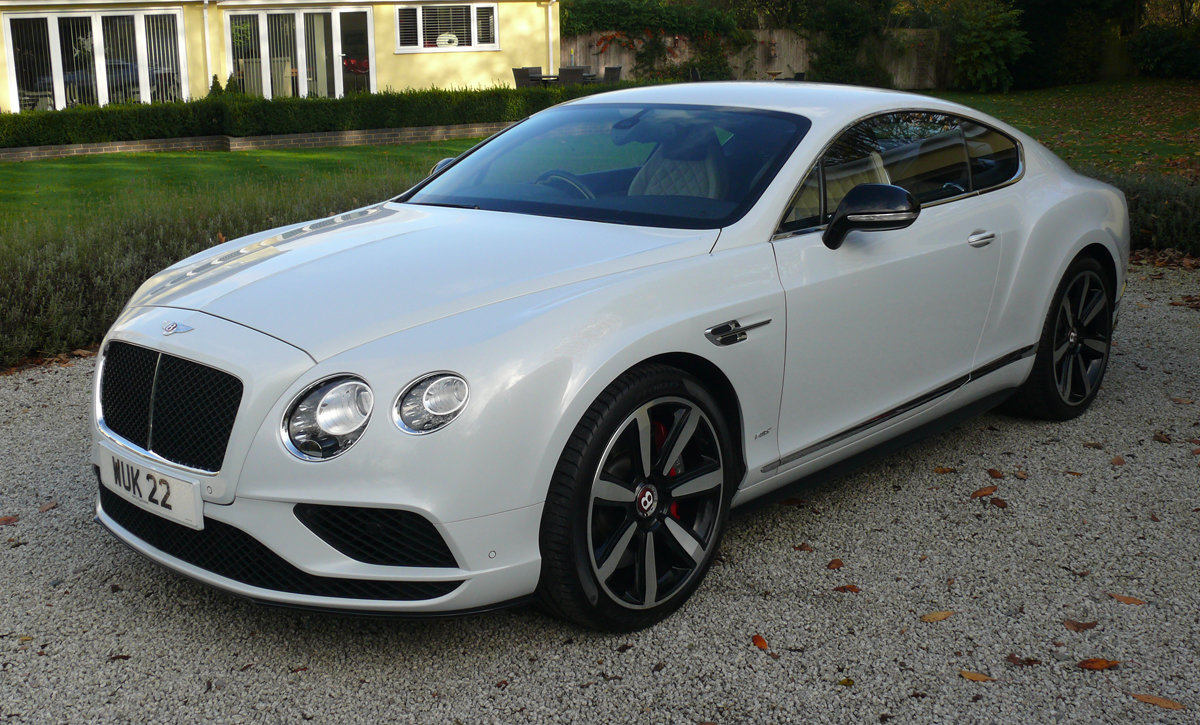 2016 Bentley Continental GT V8S Mulliner For Sale (picture 1 of 6)