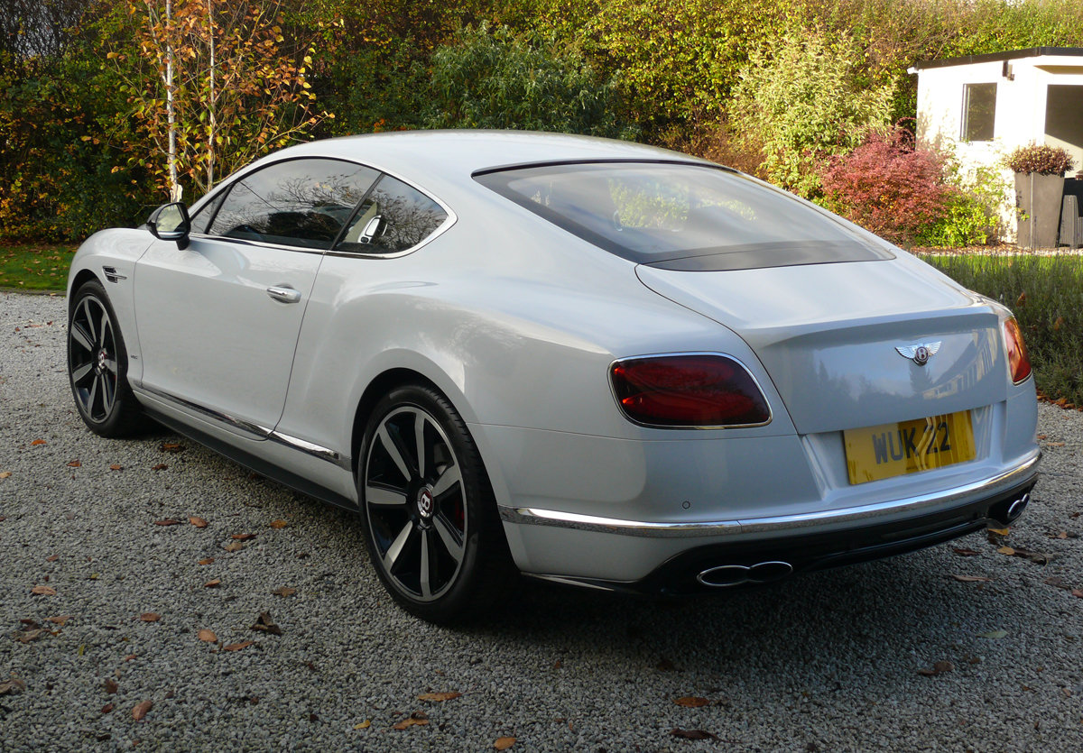 2016 Bentley Continental GT V8S Mulliner For Sale (picture 2 of 6)