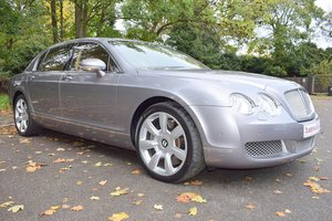 2006 Model/55 Bentley Flying Spur in Silver Tempest