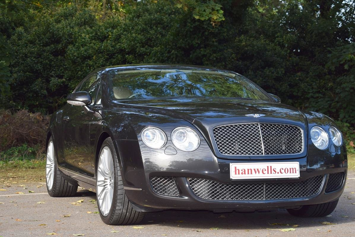 2009/09 Bentley Continental GT Speed in Diamond Black For Sale (picture 1 of 6)