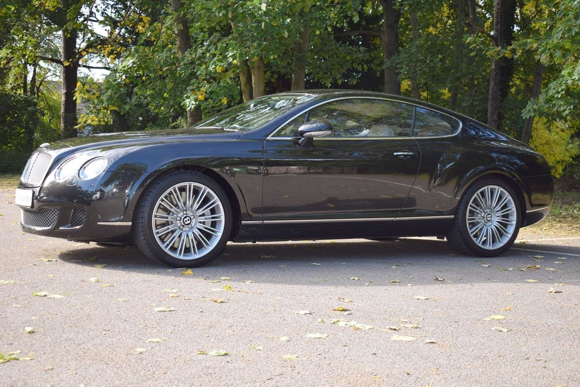 2009/09 Bentley Continental GT Speed in Diamond Black For Sale (picture 4 of 6)