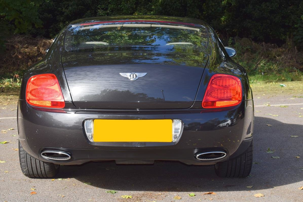 2009/09 Bentley Continental GT Speed in Diamond Black For Sale (picture 5 of 6)