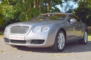 2005/55 Bentley Continental GT in Silver Tempest