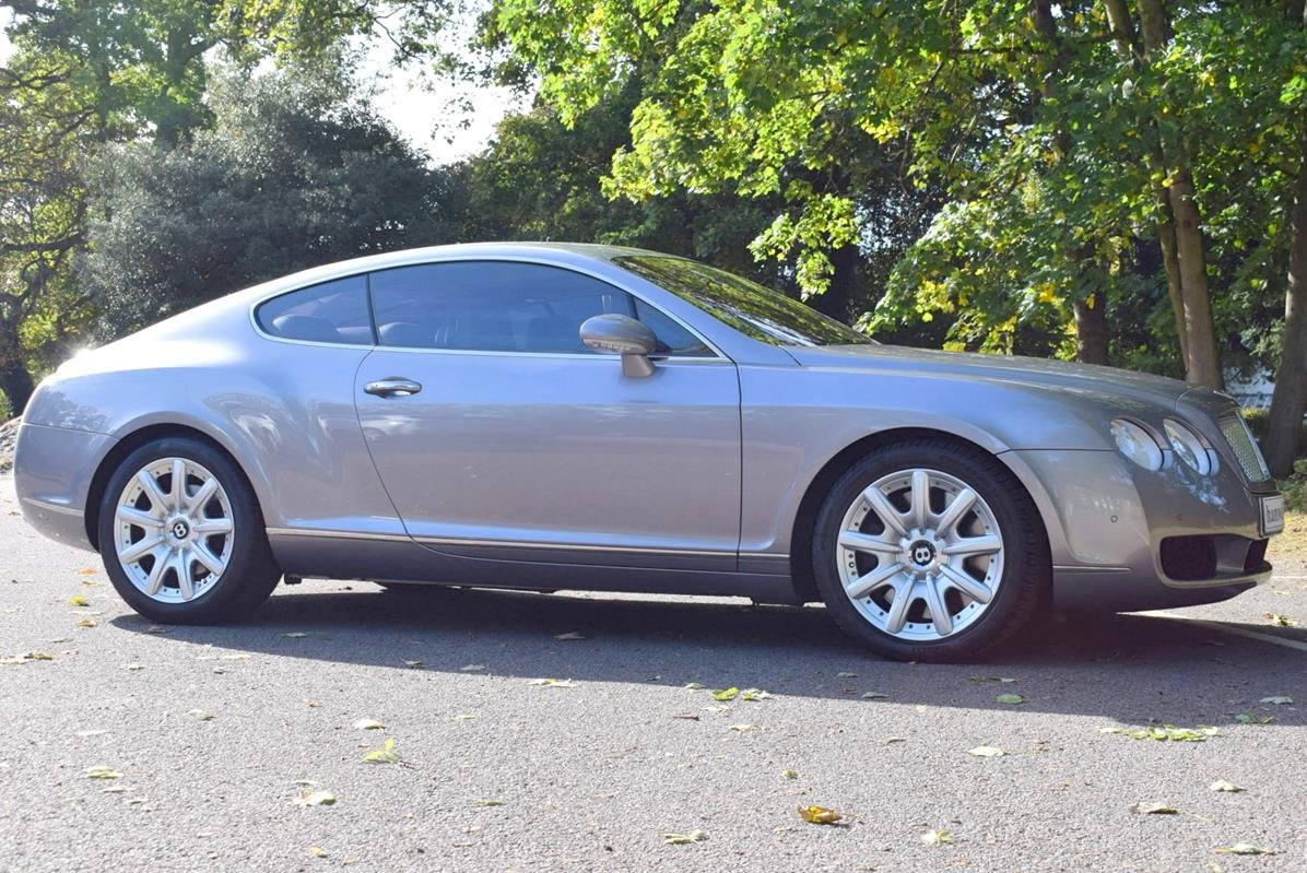 2005/55 Bentley Continental GT in Silver Tempest For Sale (picture 4 of 6)