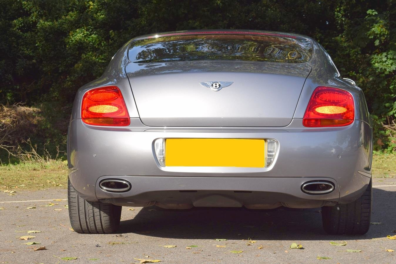 2005/55 Bentley Continental GT in Silver Tempest For Sale (picture 5 of 6)