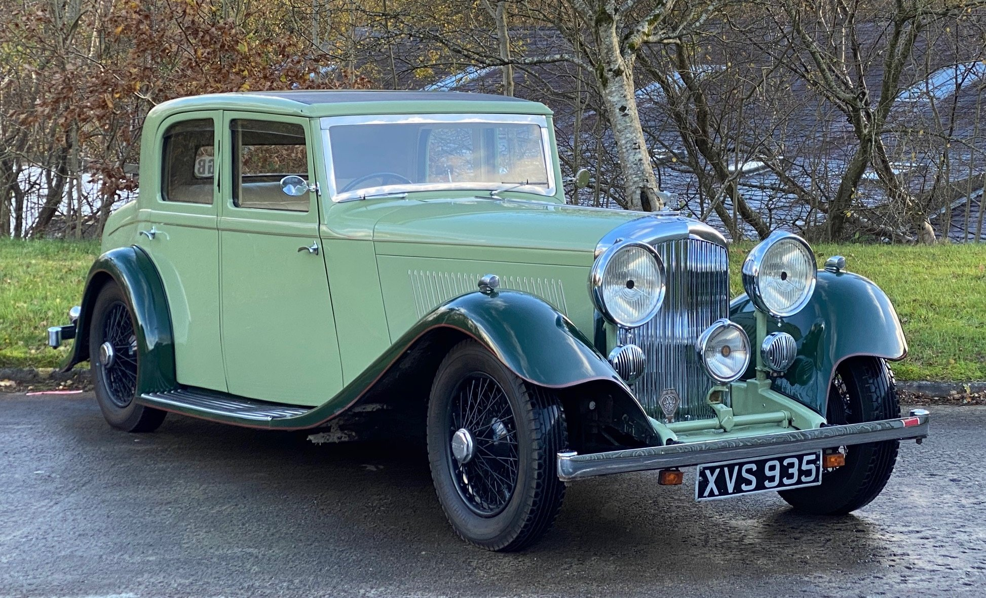 1934 Bentley 3½ Litre Hooper Sports Saloon B129BL For Sale (picture 1 of 6)