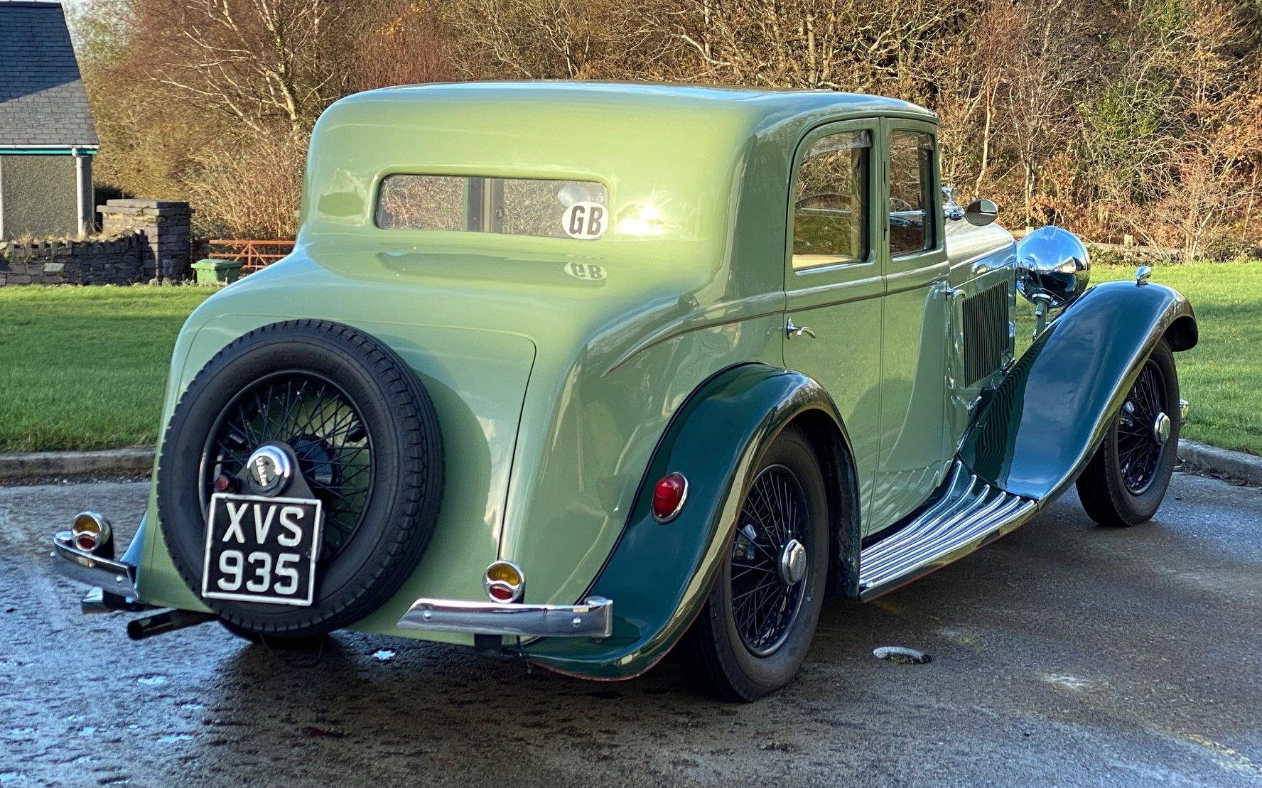 1934 Bentley 3½ Litre Hooper Sports Saloon B129BL For Sale (picture 2 of 6)