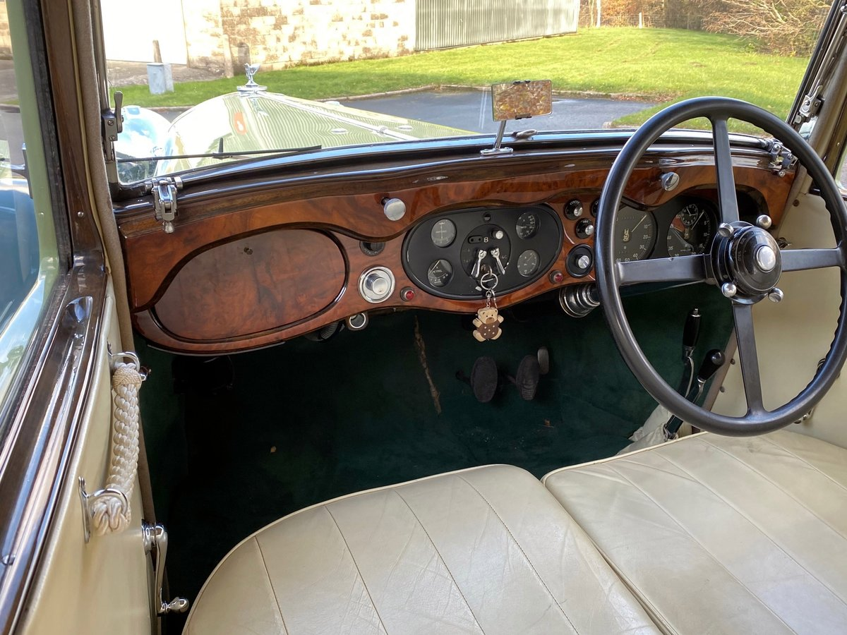 1934 Bentley 3½ Litre Hooper Sports Saloon B129BL For Sale (picture 4 of 6)