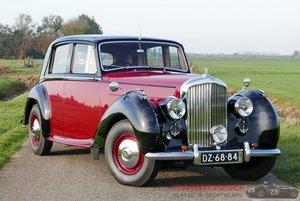 Bentley Mark VI Sports Saloon Beautiful  en restored car