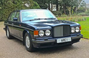 Picture of 1993 BENTLEY TURBO R MKIII           dealer history from new For Sale