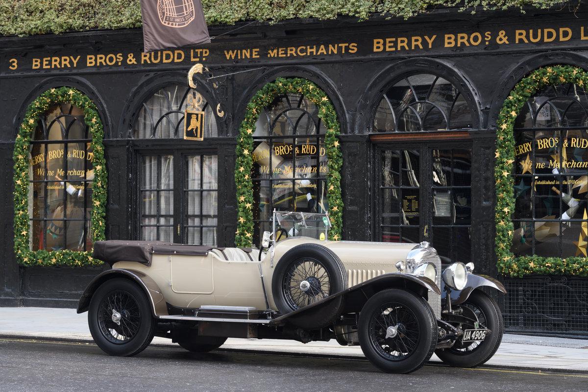 1928 Bentley 4 12 Litre Vanden Plas Style Tourer For Sale (picture 1 of 10)