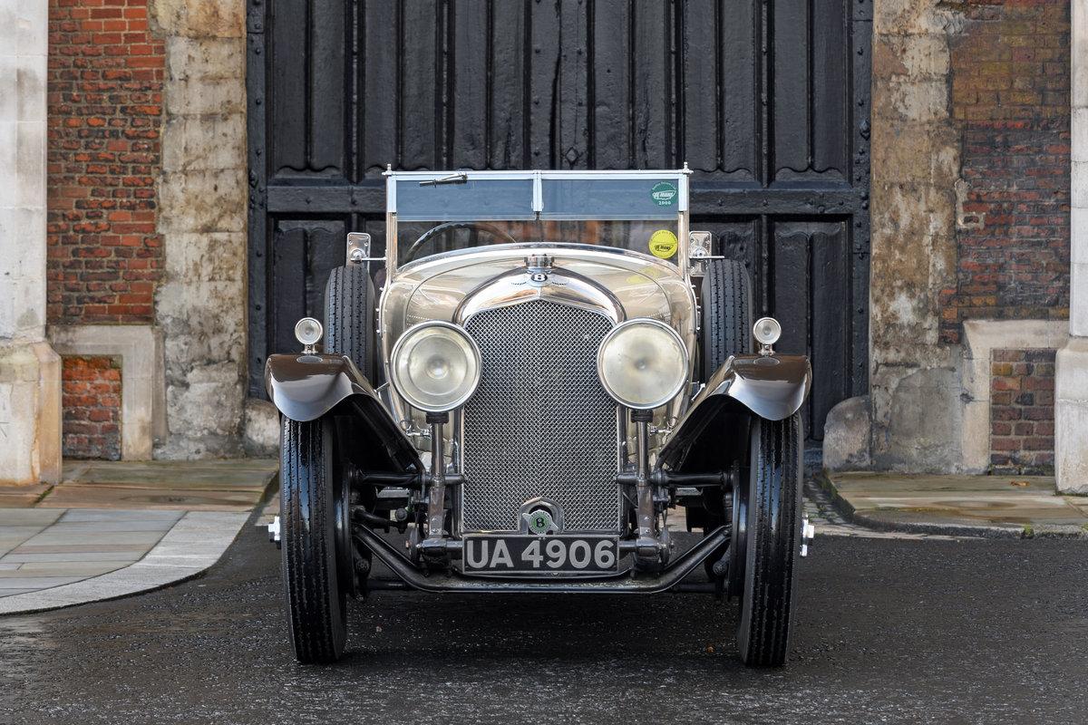 1928 Bentley 4 12 Litre Vanden Plas Style Tourer For Sale (picture 2 of 10)