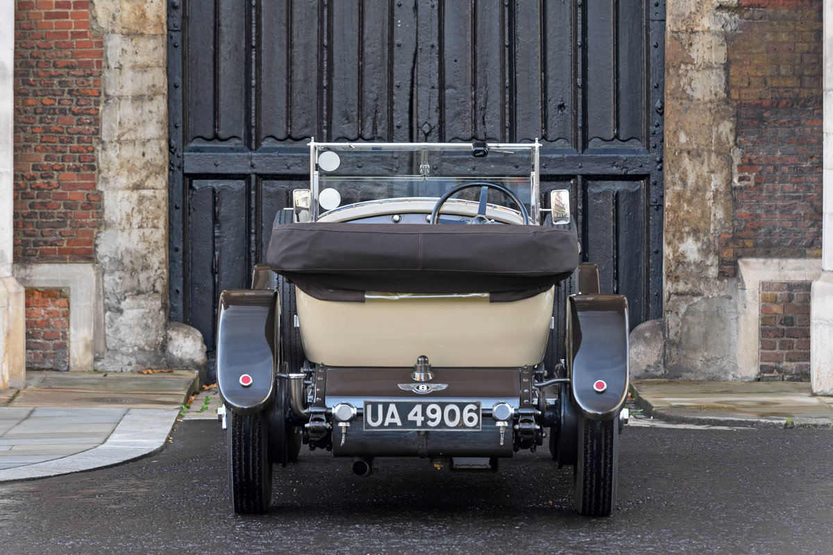 1928 Bentley 4 12 Litre Vanden Plas Style Tourer For Sale (picture 3 of 10)
