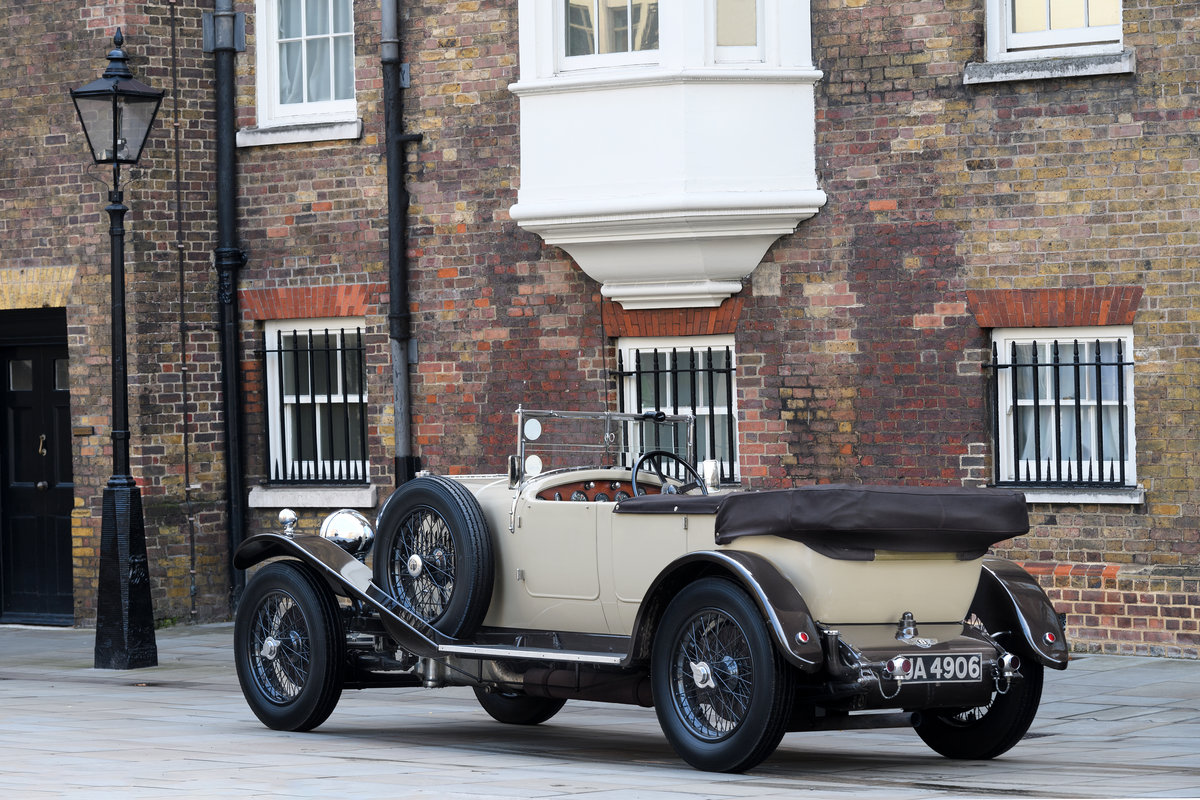 1928 Bentley 4 12 Litre Vanden Plas Style Tourer For Sale (picture 4 of 10)