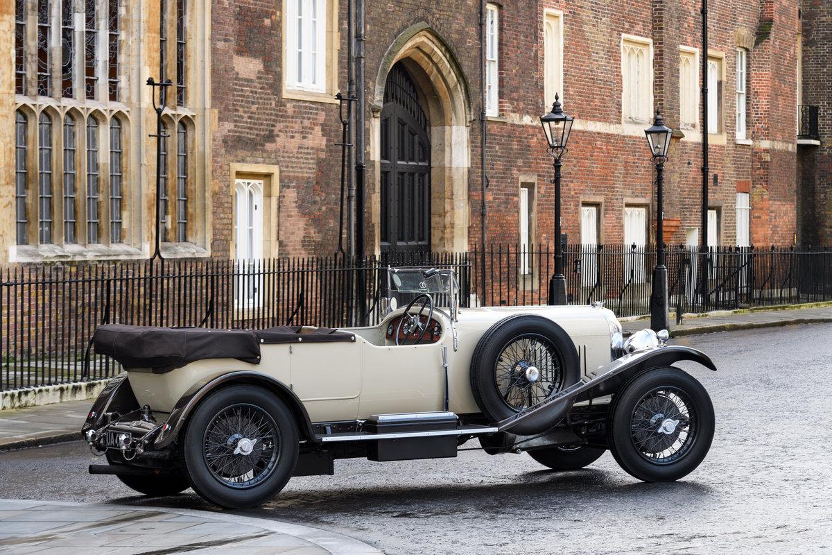 1928 Bentley 4 12 Litre Vanden Plas Style Tourer For Sale (picture 5 of 10)