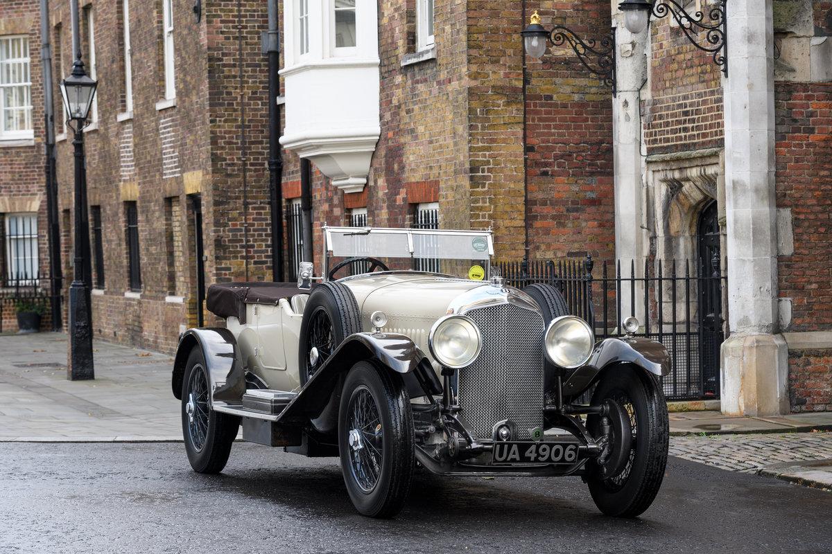1928 Bentley 4 12 Litre Vanden Plas Style Tourer For Sale (picture 6 of 10)