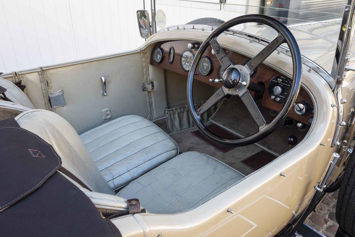 1928 Bentley 4 12 Litre Vanden Plas Style Tourer For Sale (picture 9 of 10)