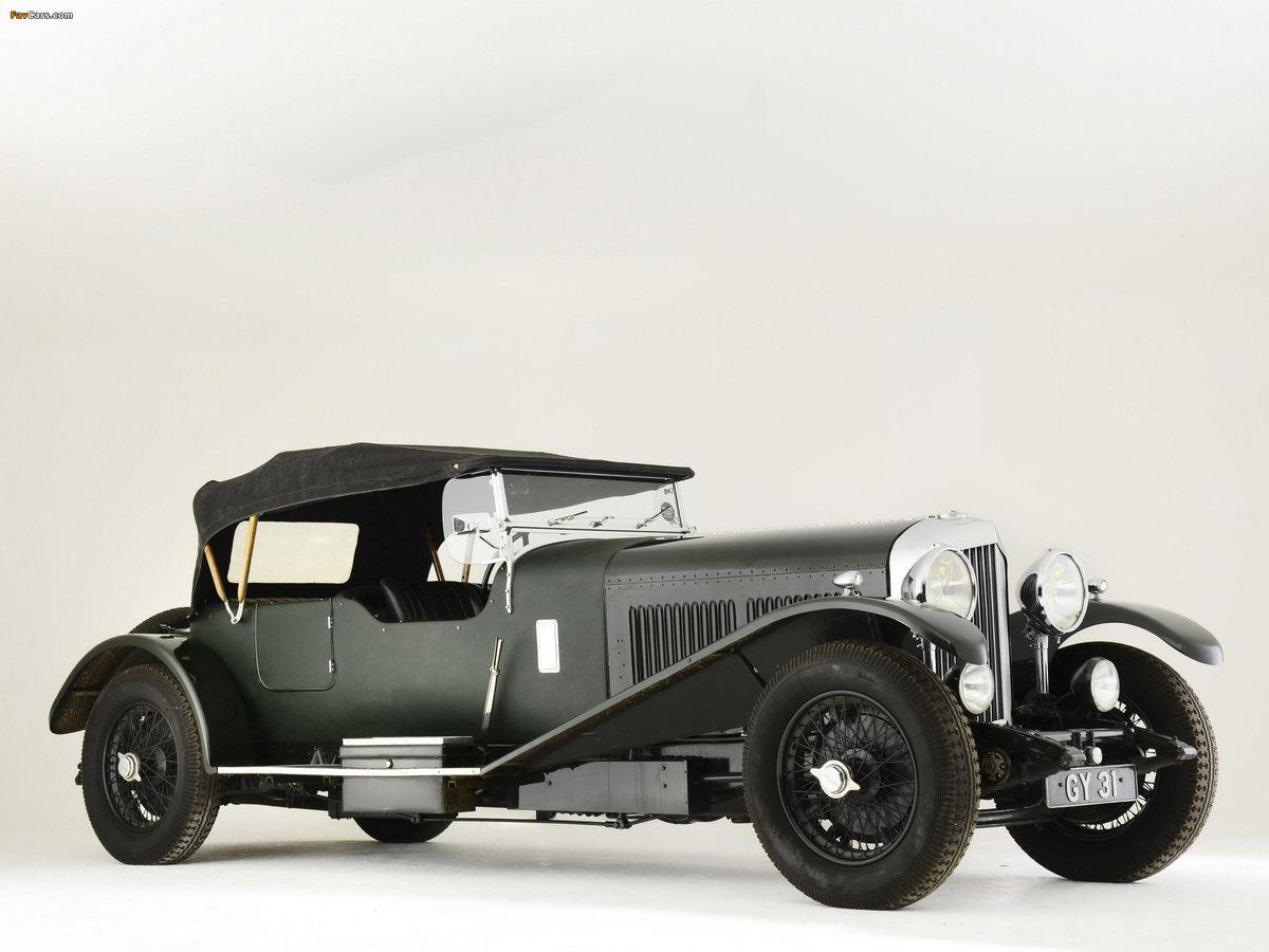 1931 BENTLEY 8 LITRE LE MANS STYLE TOURER For Sale (picture 1 of 6)