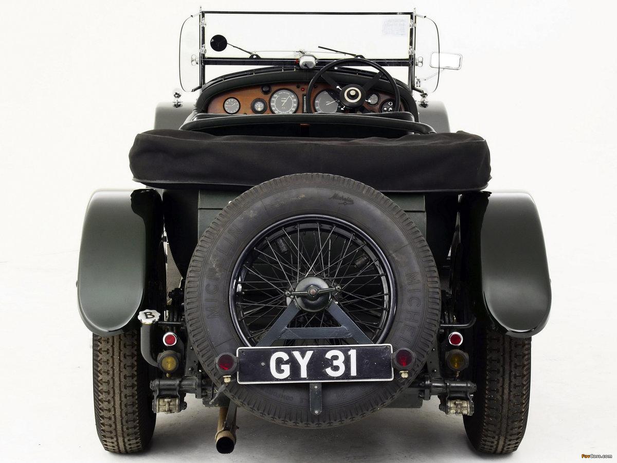 1931 BENTLEY 8 LITRE LE MANS STYLE TOURER For Sale (picture 2 of 6)