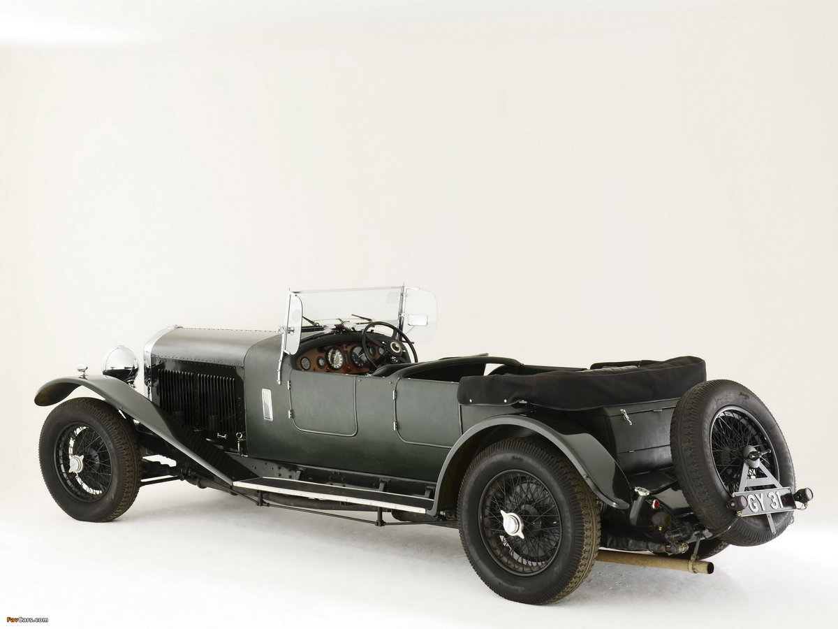 1931 BENTLEY 8 LITRE LE MANS STYLE TOURER For Sale (picture 3 of 6)