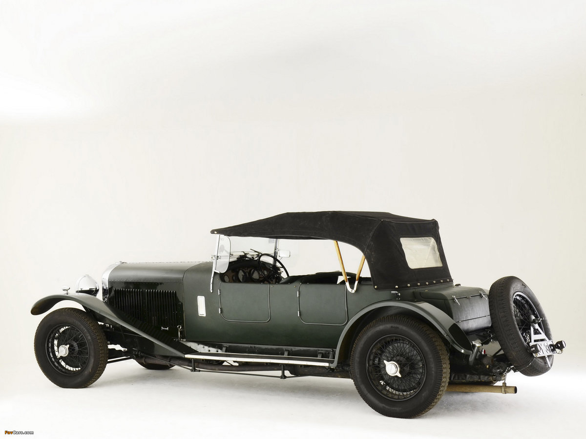 1931 BENTLEY 8 LITRE LE MANS STYLE TOURER For Sale (picture 6 of 6)